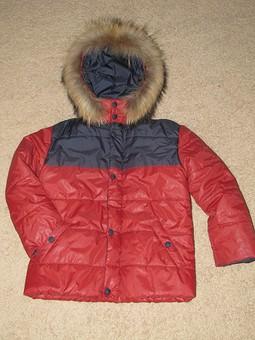 Работа с названием Зимняя курточка