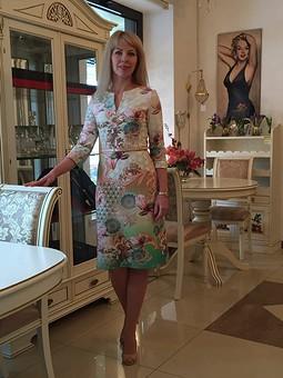 Работа с названием Новое платье