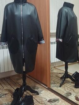 Работа с названием Пальто Модель 117 Burda 9/2016