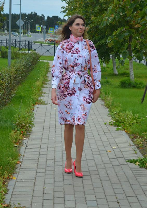 Blooming coat или подарок сестре