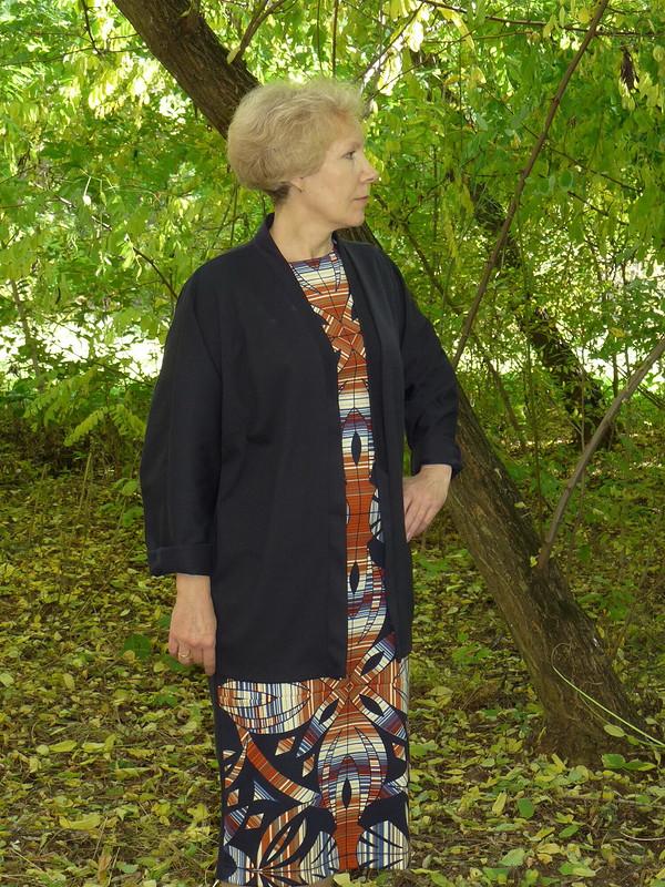 Комплект: платье икардиган