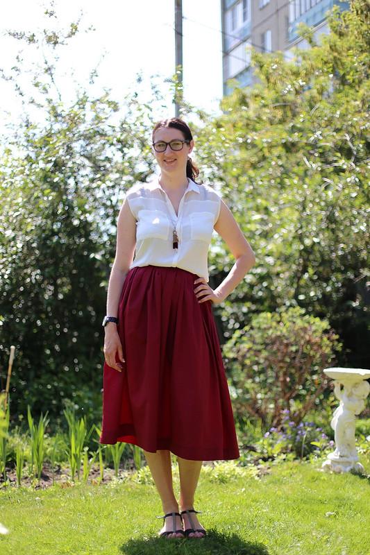 Рустикальная юбка