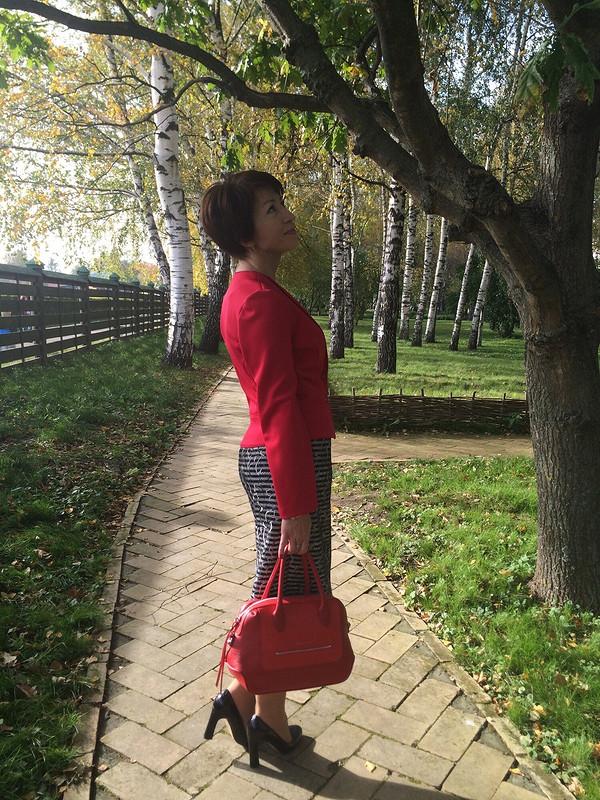 Осенний марафон вкрасном