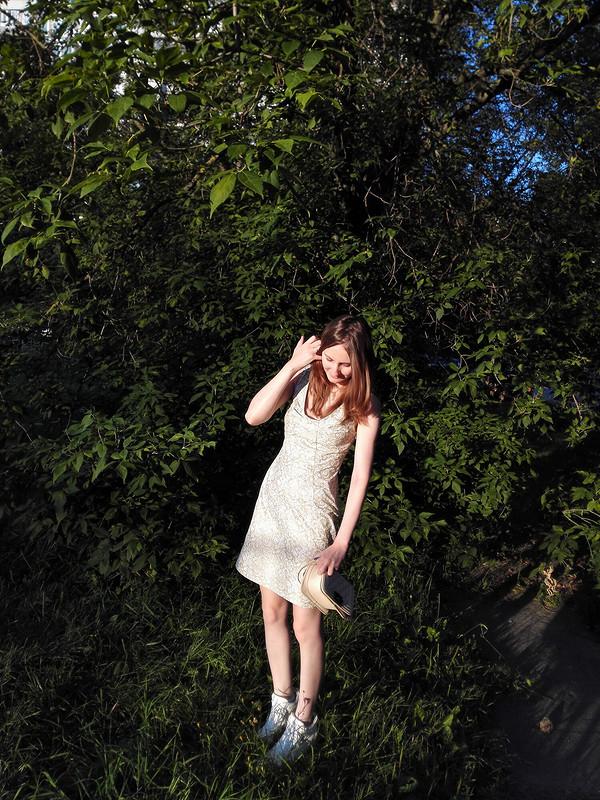 Платье слифом «Бант»