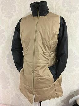 Работа с названием Куртка из кусочков