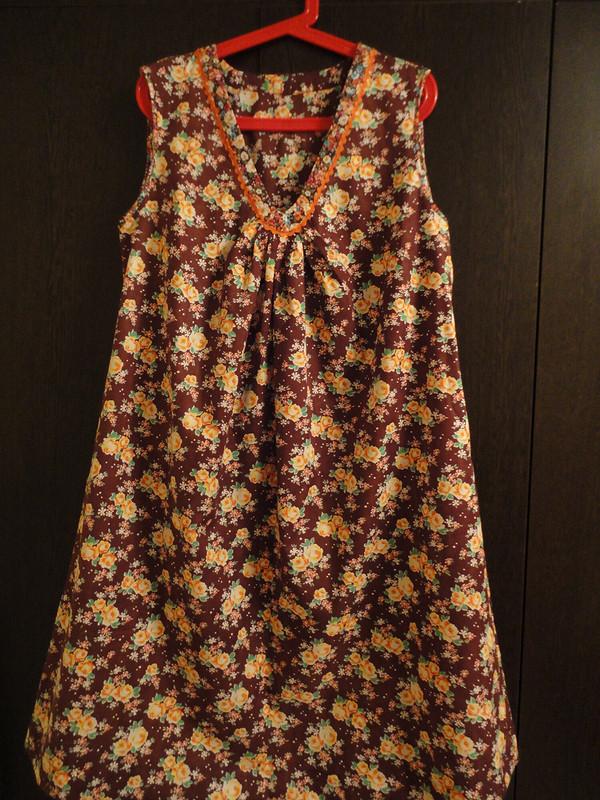 Домашнее платье маме