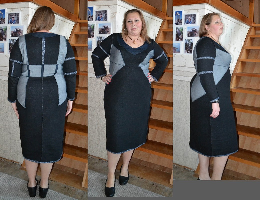 Моя интерпретация платья-футляра