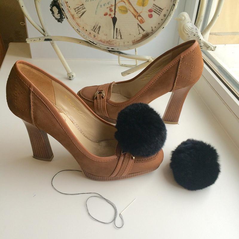 Туфли превращаются