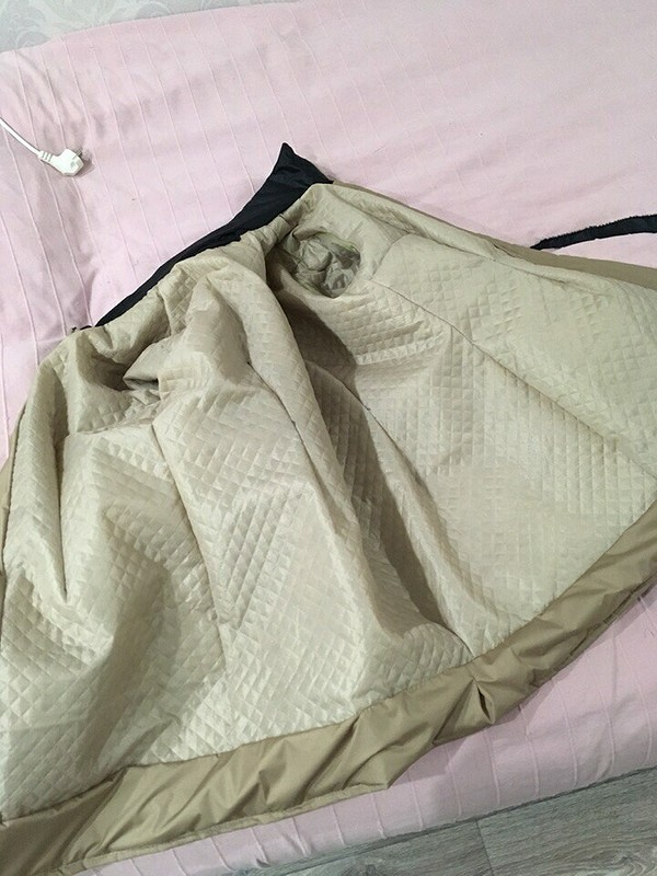Куртка изкусочков