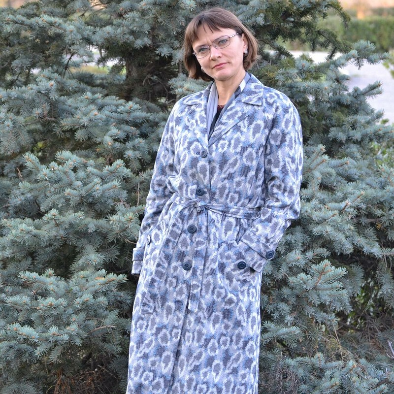 Джинсовый тренчкот или узбекский халат