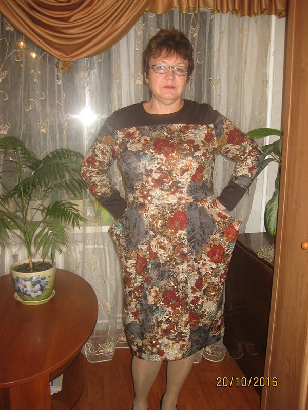 Мой вариант ушастого платья