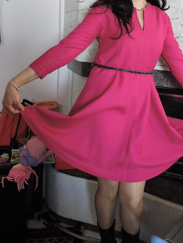 Платье.Πлатье фукс