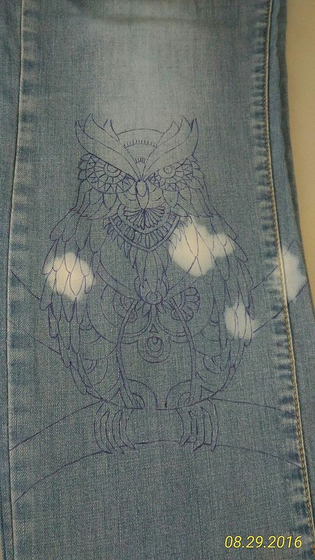 Спасение любимых джинс