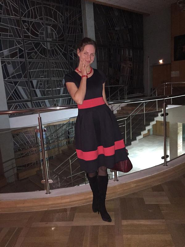 Платье изнеопрена