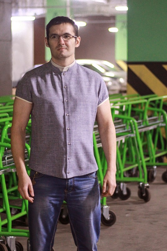 Мужская рубашка от Alena1203