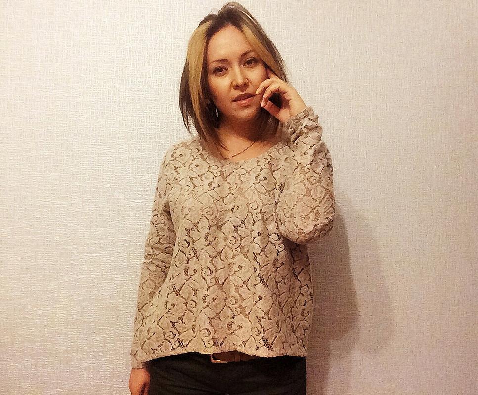 Пуловер изшерстяного кружева от Ekaterina_Alyutina
