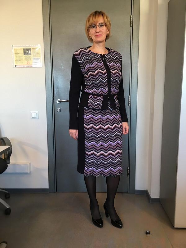 Шерстяной костюм Миссони