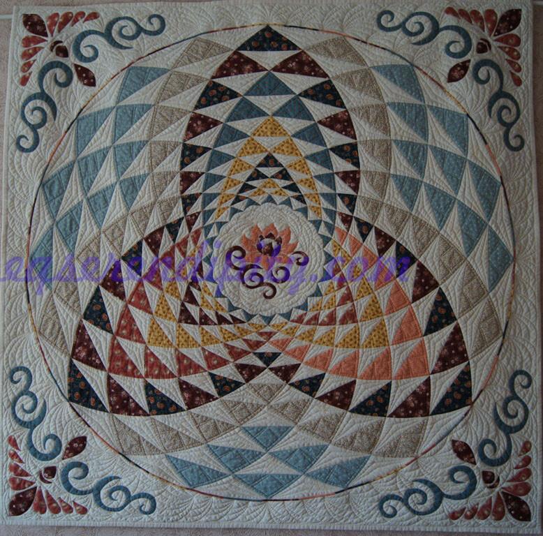 Мандала «Трилистник»