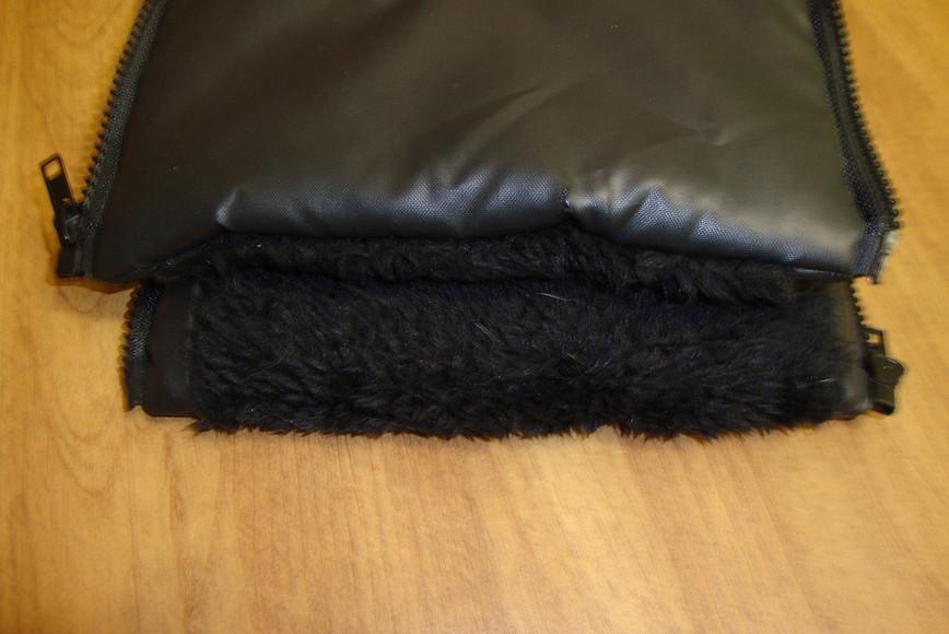 Как сшить муфту-варежки намолнии длядетской коляски