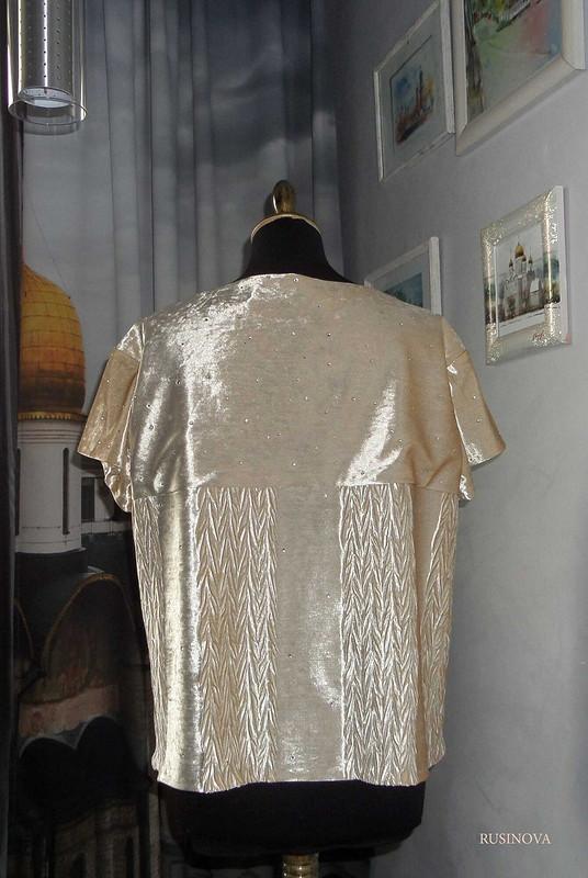 Блузка со стразами от rusinova