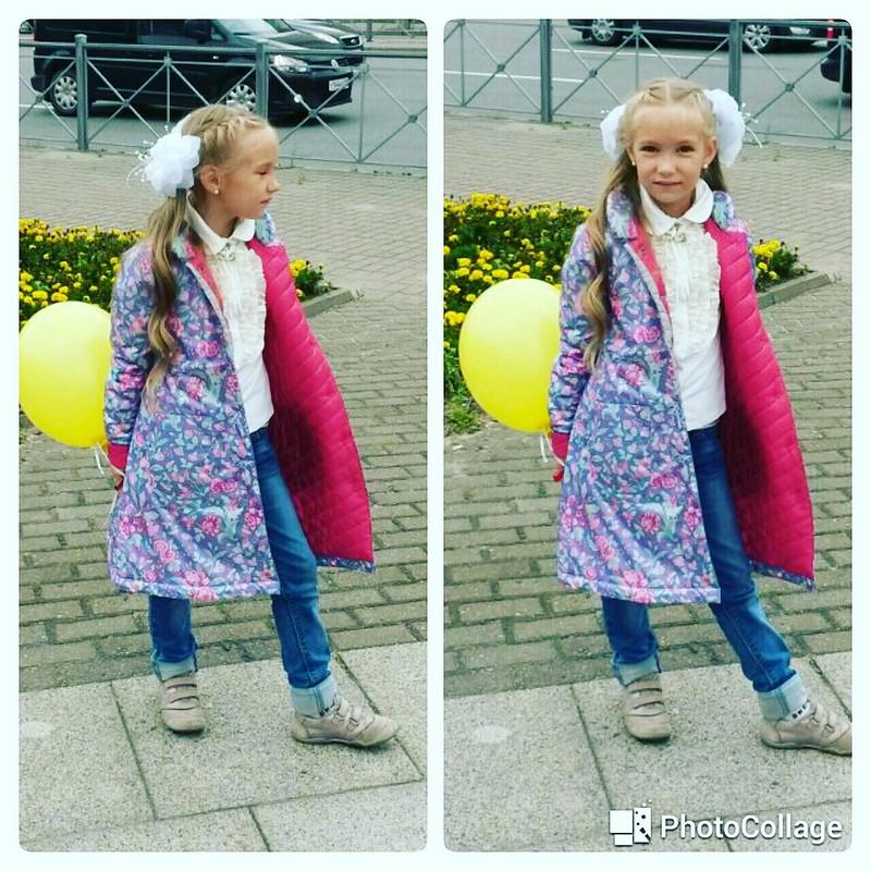 Пальто племяшке от Katherina_Belyaeva