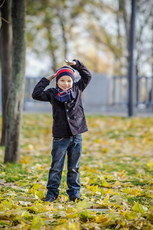 Осенью впарке