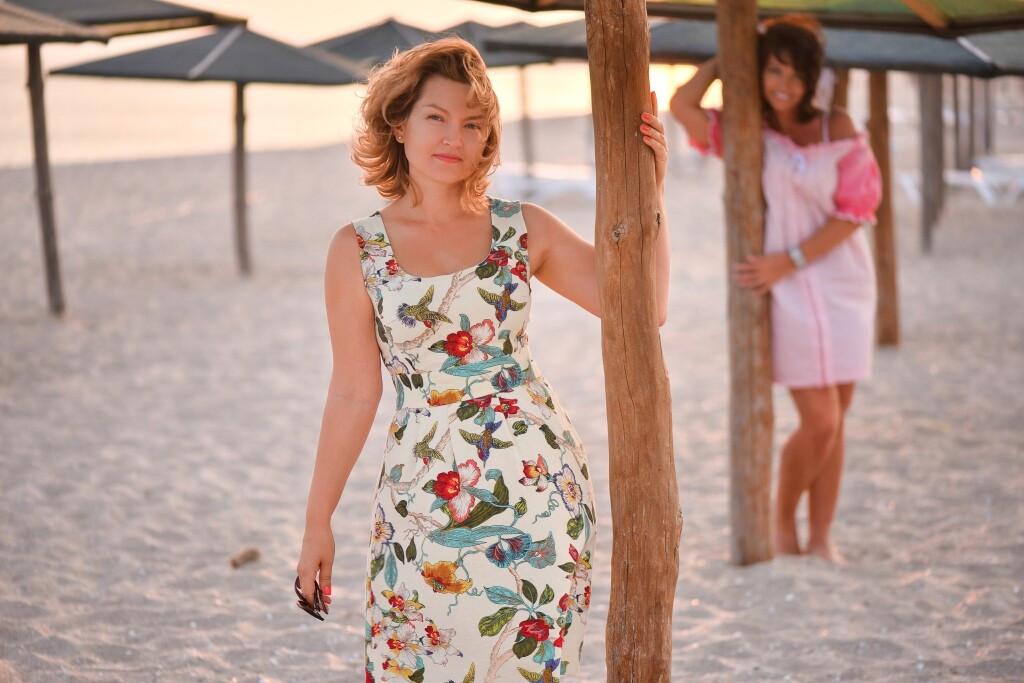 Платье изльна от Ольга Хомич