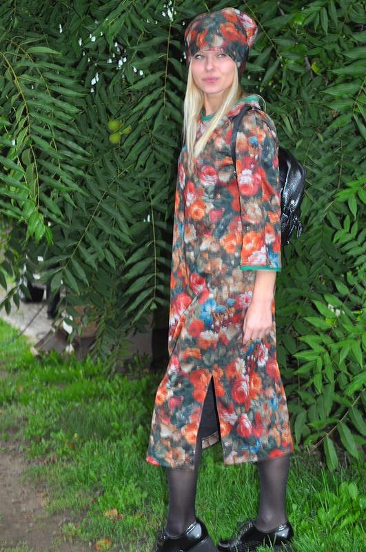 Платье изджерси