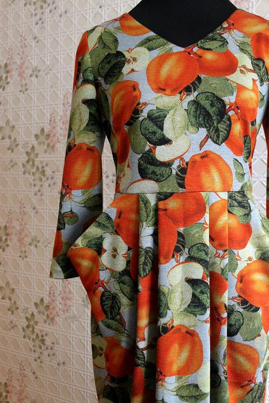 Мое «ушастенькое» витаминное платье