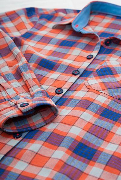 Старая рубашка сновой стрижкой