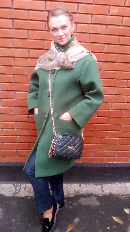 Пальто встиле Оверсайз (Oversize) от Inna_Ka