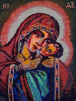 Работа с названием Богородица с Иисусом на руках