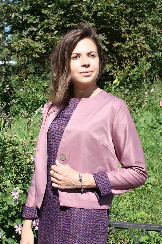 Пиджак иплатье
