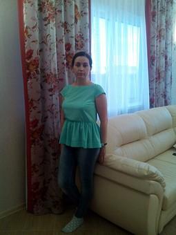 Работа с названием Мятная блузка из 7/2015