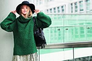 Как сшить пуловер из трикотажа без выкройки