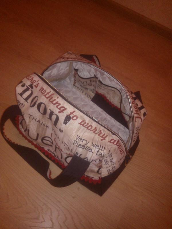 Спортивная сумка / Перевоплощение газеты