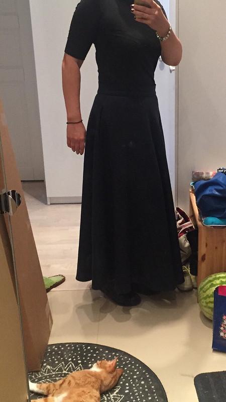 Теплая юбка скарманами!