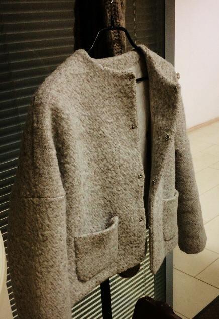 Курточка, стеганый подклад
