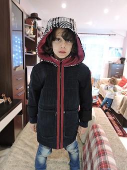 Работа с названием Зимняя куртка из джинс