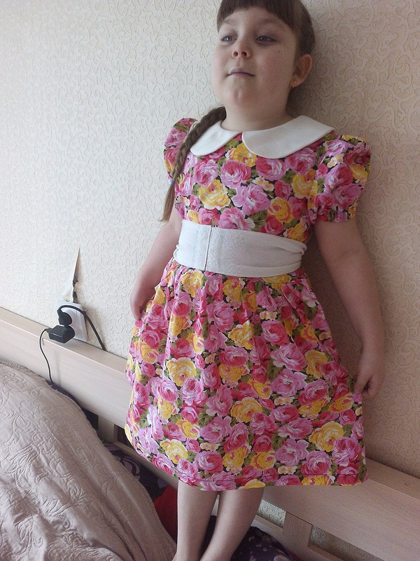 Яркое платье от bogomazolya
