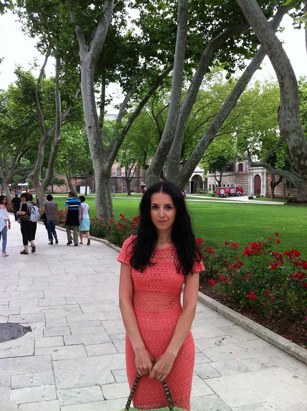 Вязаное платье от MashaD