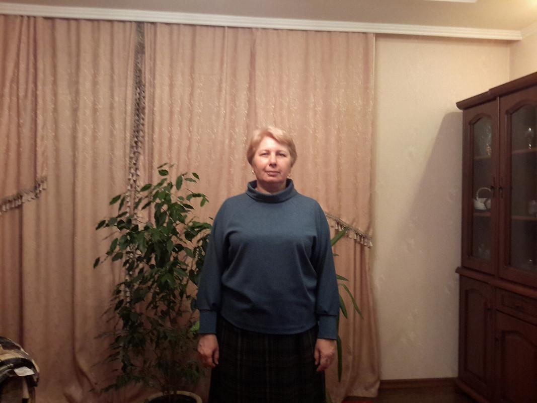Пуловер срукавами реглан