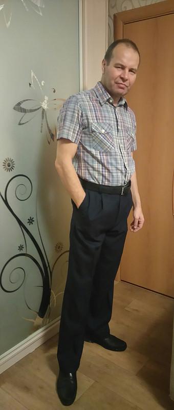 Первые брюки от poscha