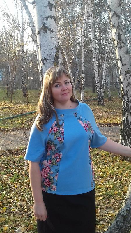 «Румяный» пуловер от OLIS