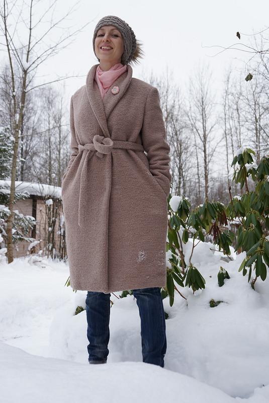 Теплое пальтишко