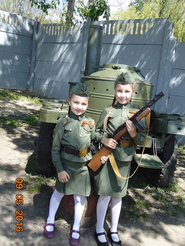 Военная форма длядевочек от Elenka-Elenka