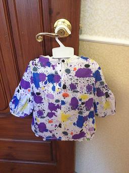 Работа с названием Трендовая блузка для дочки
