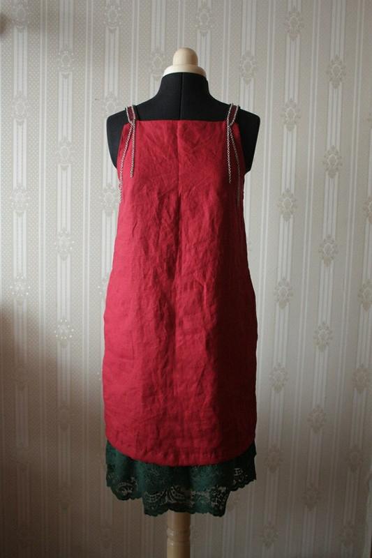 Платье контрастных цветов от Mystika