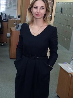 Работа с названием Платье октября!