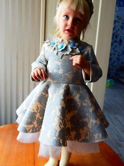 Работа с названием Платье для принцессы 2-х лет